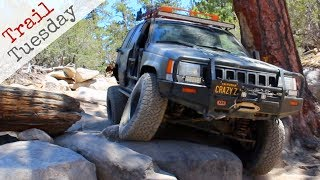 Jeep Grand Cherokee ZJ Tackles John Bull and Holcomb Creek