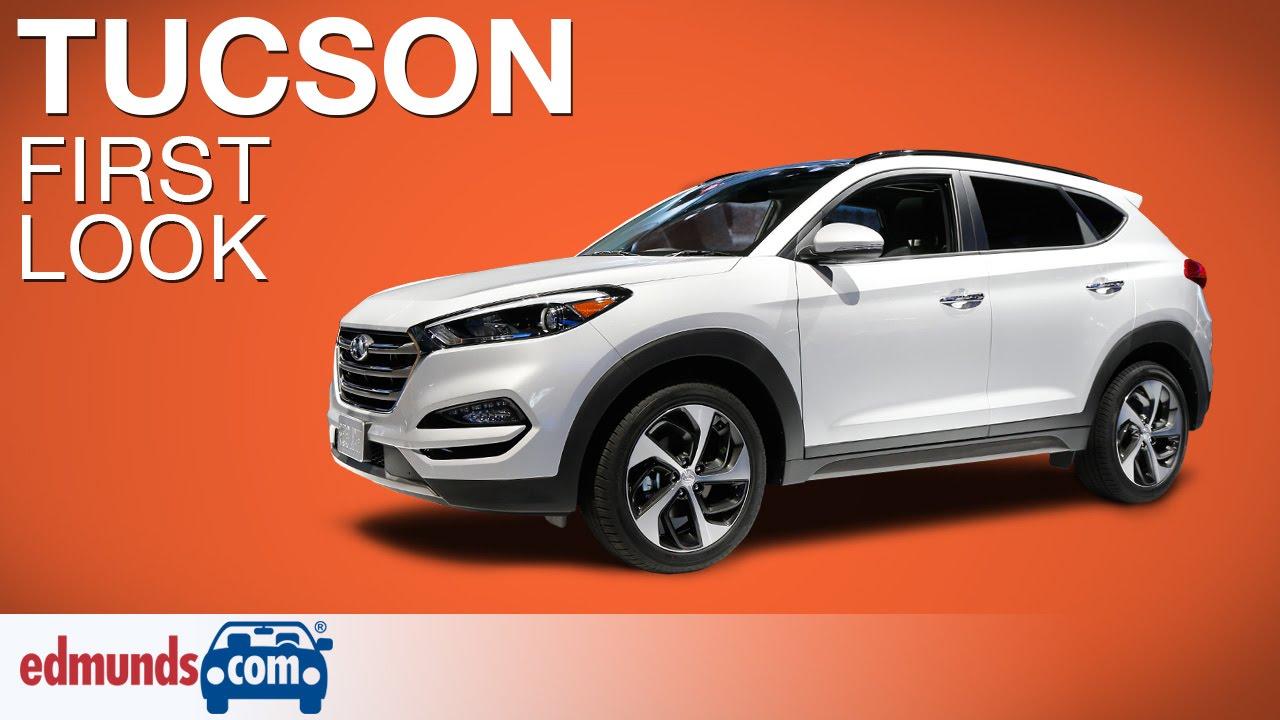 Lastest 2016 Hyundai Tucson First Look  New York Auto Show  YouTube