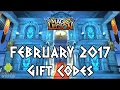 Magic Legion - Hero Legend Gift Codes February 2017