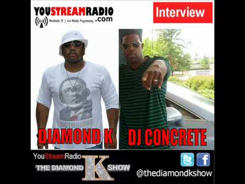 DJ Concrete: Record labels have it easy now @TheDiamondKShow - Full Interview