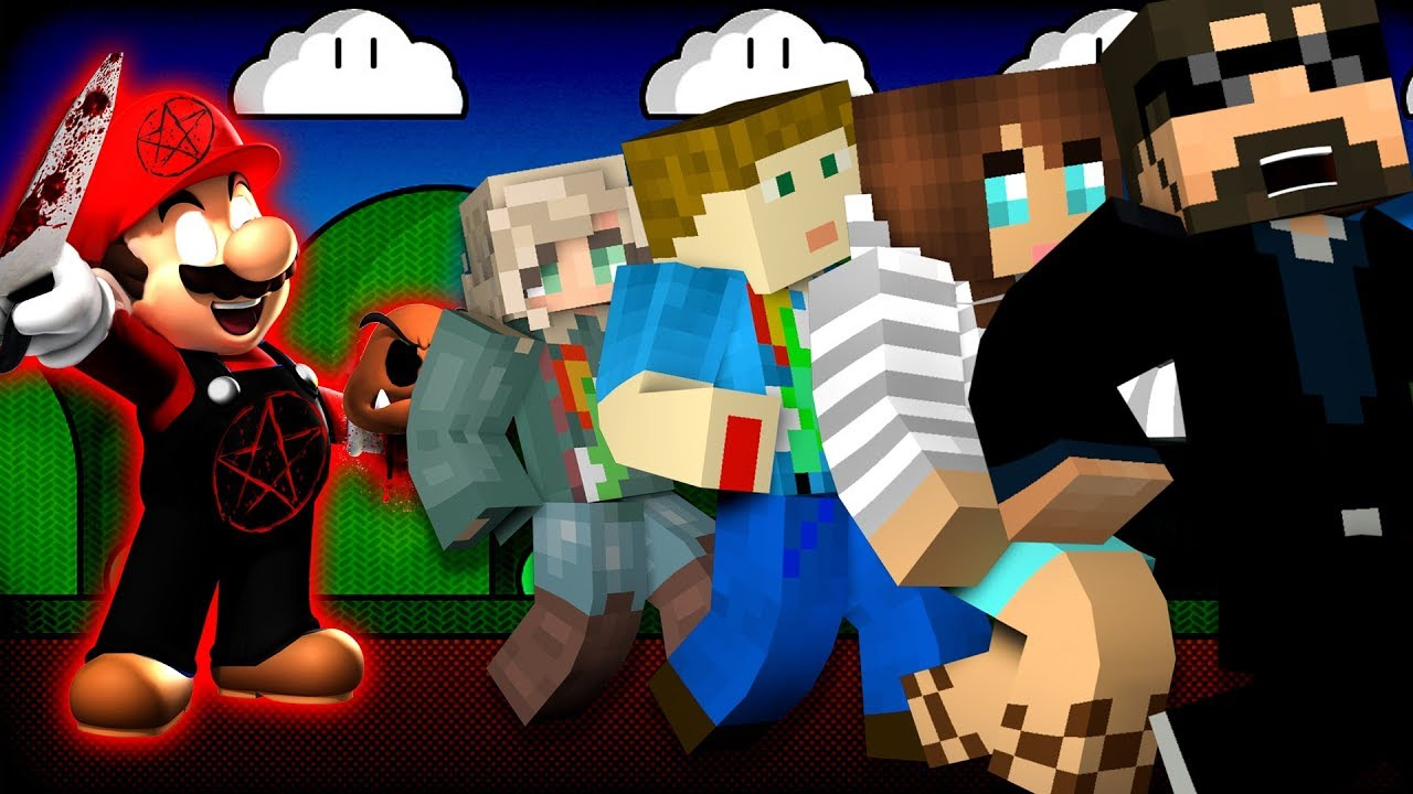 Minecraft: SUPER MARIO MURDER | MODDED MINI-GAME