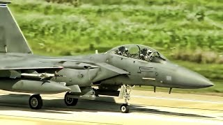 U.S. F-15 Strike Eagles Go To Greece