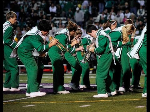 South Fayette's Little Green Machine Marching 2014 Festival Performance