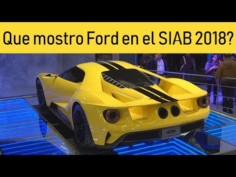 Lanzamientos Ford  Salon del Automovil Colombia / Ford GT, Mustang Shelby GT, Raptor, Edge ST