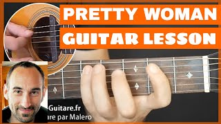 Pretty Woman Guitar Lesson - part 1 of 4