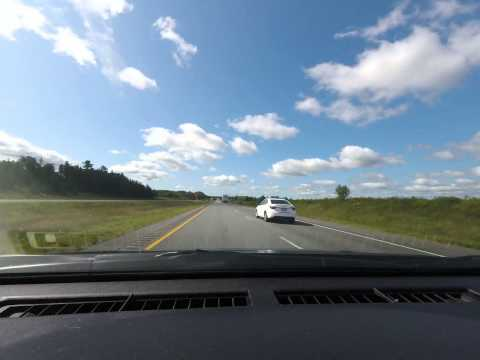 Moncton to Halifax time-lapse road-trip