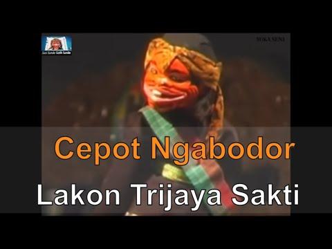 Cepot Ngabodor dina lakon Trijaya Sakti