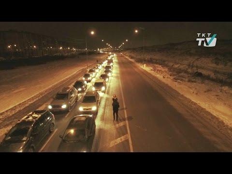 Пробки в Славянке
