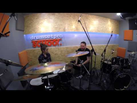 """Mistrzowie Perkusji - Dariusz """"Daray"""" Brzozowski - 23.04.2016 Drumsetpro School, Chorzów"""
