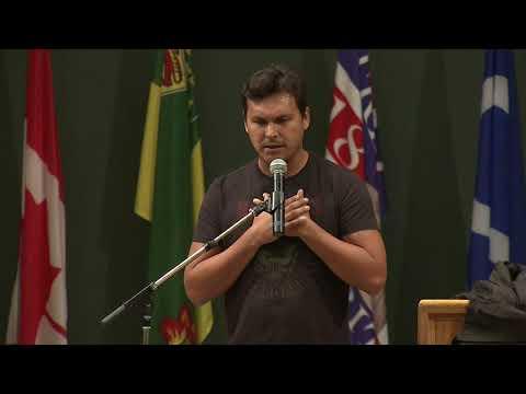 Adam Beach Speaker