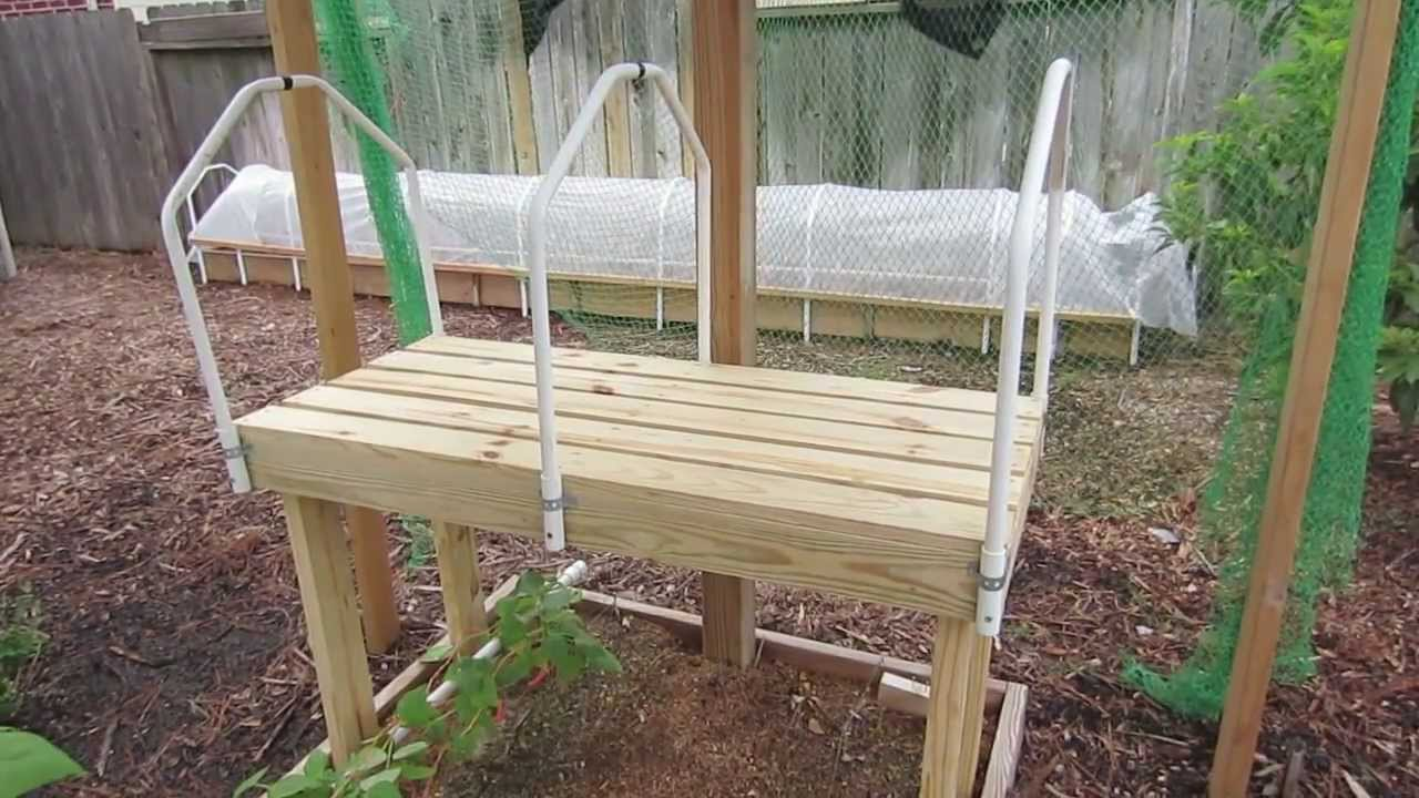 DIY Seedling Grow Table Plans & Design - YouTube
