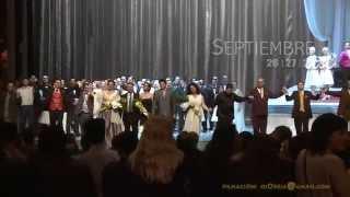 Flashes Del Estreno De LA TRAVIATA Teatro Argentino 2014