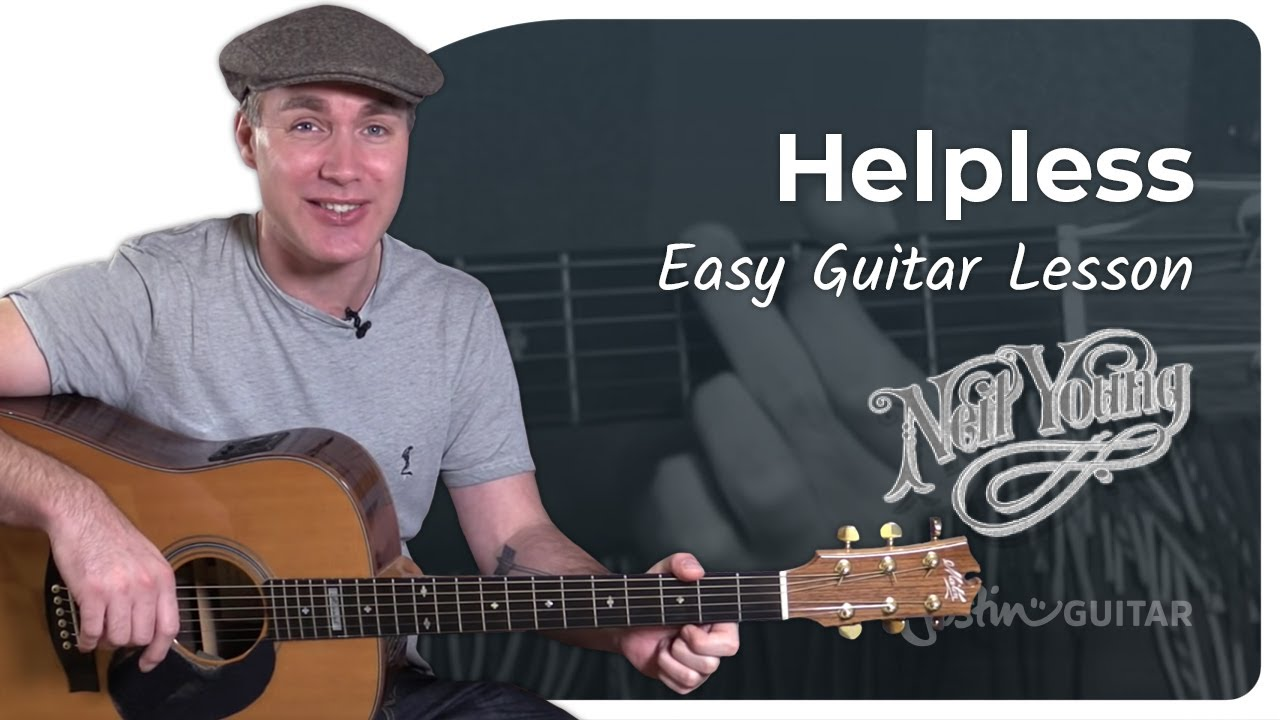 helpless neil young acoustic guitar lesson tutorial st 911 capo and cover youtube. Black Bedroom Furniture Sets. Home Design Ideas
