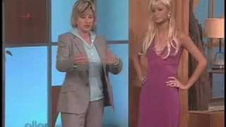 Paris Hilton gives Ellen a lesson on how to walk a runway!