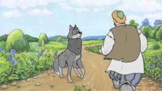 Глупый волк.Бесплатные сказки для малышей
