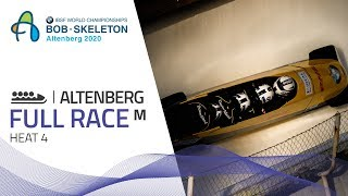 Altenberg | BMW IBSF World Championships 2020 - 4-Man Bobsleigh Heat 4 | IBSF Official