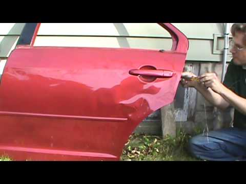 Fusion Rear Door Latch And Exterior Handle Removal Youtube