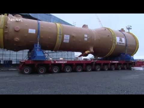 How to build a nuclear power plant -- video.