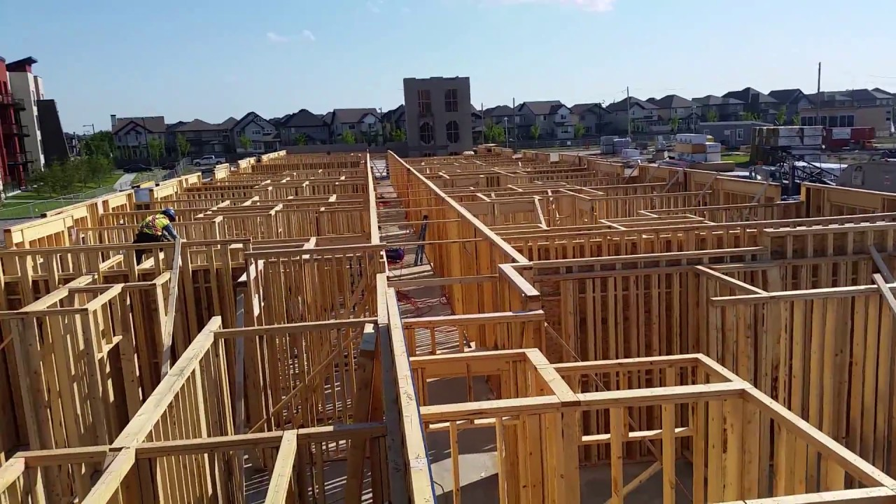 Capital City Contracting Framing in EDMONTON - YouTube