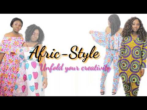 Afric-Style Unfold your creativity Fabric Haul #2 Ft. Princess *Aaliyah*