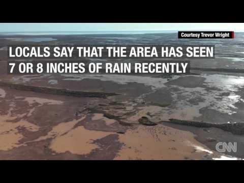 Heavy Rains Fill Australian Desert Lake In Rare Event