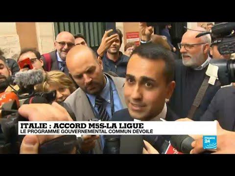 """Italie : """"un programme économique difficile à mettre en œuvre"""""""