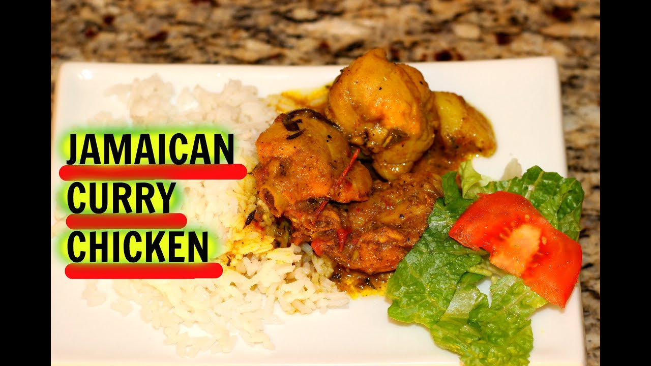 Authentic jamaican curry chicken recipe the jamaican mother youtube forumfinder