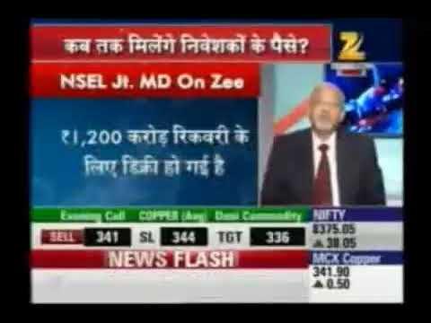 Exclusive Interview of Mr. Prakash Chaturvedi, Chief Executive Officer, NSEL