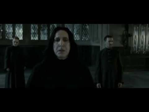 Harry Potter et les reliques de la mort - Severus Rogue vs Minerva McGonagall poster