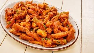 Veg Crispy Recipe - Restaurant Style Starter - Indo Chinese Food - CookingShooking