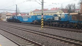 Gambar cover Nadměrný náklad(200 t) na kolejích - Heavy transport(200 t) on rails - Schwertransport auf Schienen