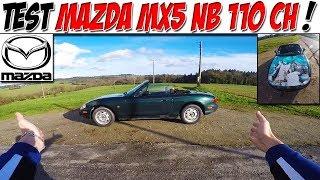 #CarVlog 36 : Test MAZDA MX5 110 CH / SANS ECHAPPEMENT?😂
