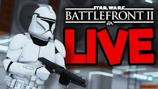 Star Wars Battlefront 2 Livestream #2 - Meet #TeamSilkie