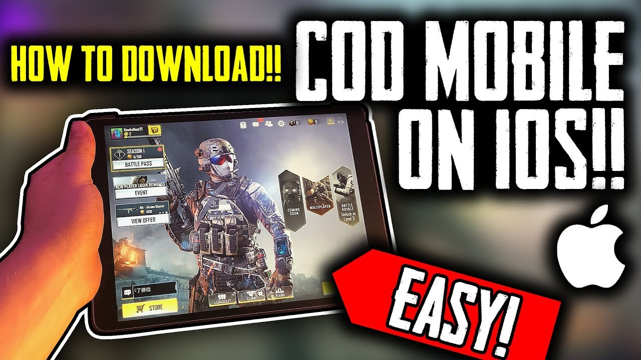 How to download COD Mobile on iPhone/iPad/IOS!! | Call of Duty mobile
