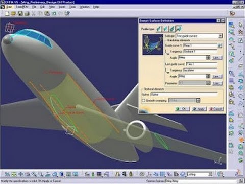 Catia V5 Tutorials Wireframe And Surface Design Extract