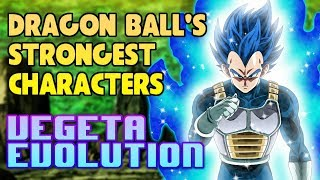 THE STRONGEST VEGETA Super Saiyan Blue Evolution