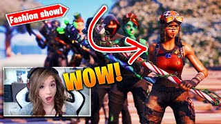 *SWEATY* Fortnite Fashion Show! FIRE Skin Competition! Best DRIP & COMBO WINS!