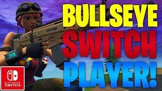 TRYHARD BULLSEYE SKIN SWITCH PLAYER GAMEPLAY! [Fortnite Battle Royale]