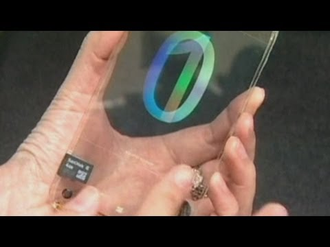 Transparent mobile phone developed in Taiwan
