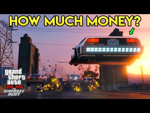 GTA Online: The Doomsday Heist - How Much $$$ Will You Need?