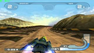 Wipeout Fusion on PCSX2 (0.9.9 SVN)