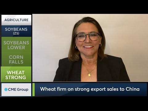 July 10 Grains Commentary: Virginia McGathey