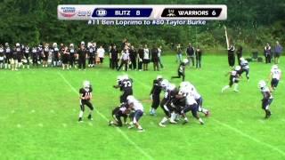 London Blitz Juniors @ London Warriors Juniors -- Junior Contact South -- 15th July 2012