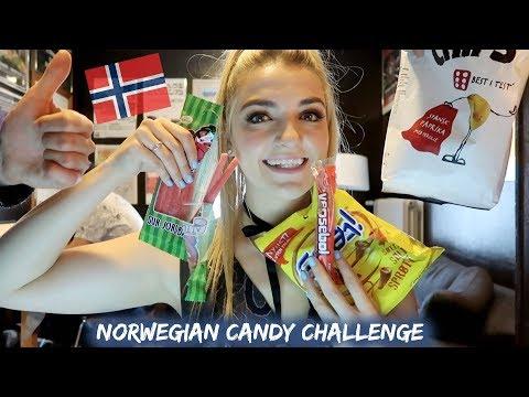 Norwegian Candy Challenge | Rydel Lynch