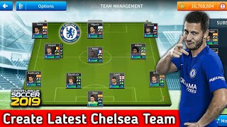 How to create chelsea team kits logo players in dream league soccer 2019 full tutorial with android and ios gameplay. all players,logo ...