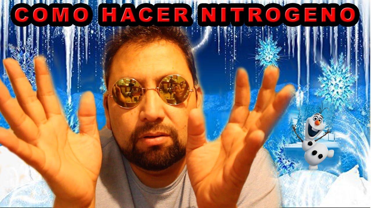 Como hacer nitrogeno liquido youtube - Como hacer plastico liquido ...