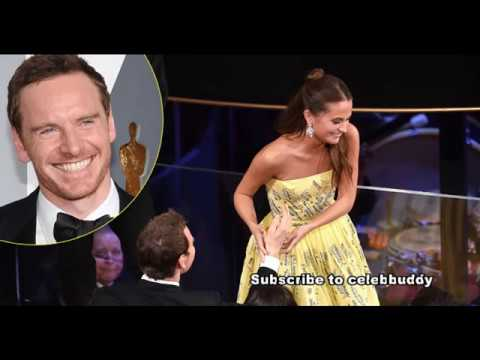 Alicia Vikander with Her Handsome Husband Michael Fassbender Album   Rare  Collection!!