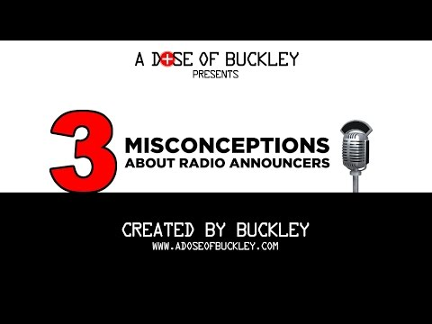3 Misconceptions About Radio Announcers