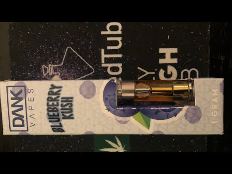 Dank Vape - Blueberry Kush 🔵Review #realdankvapes  #dankvapesofficialaccount #fakedankvapes