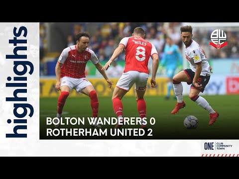 Bolton Rotherham Goals And Highlights